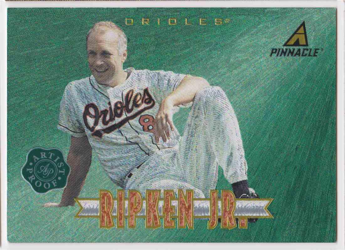 1997 Pinnacle Artist Proof Rare Cal Ripken JR #91 card front image