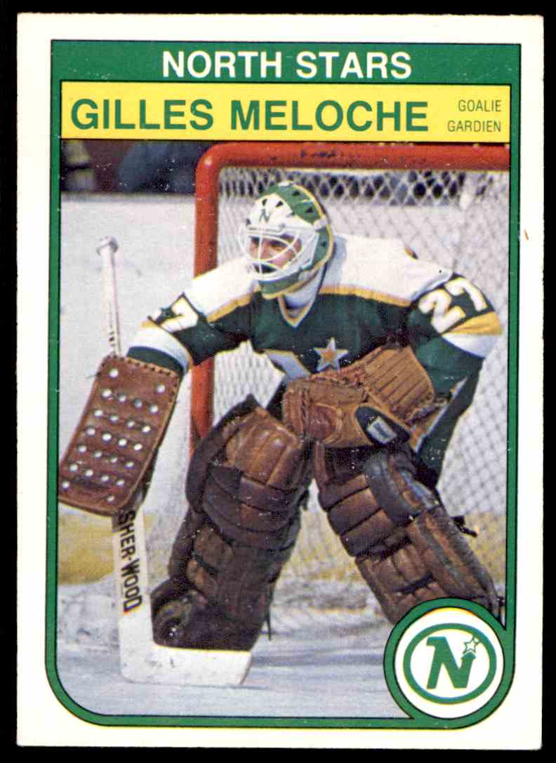 1982-83 O-Pee-Chee Gilles Meloche #170 card front image