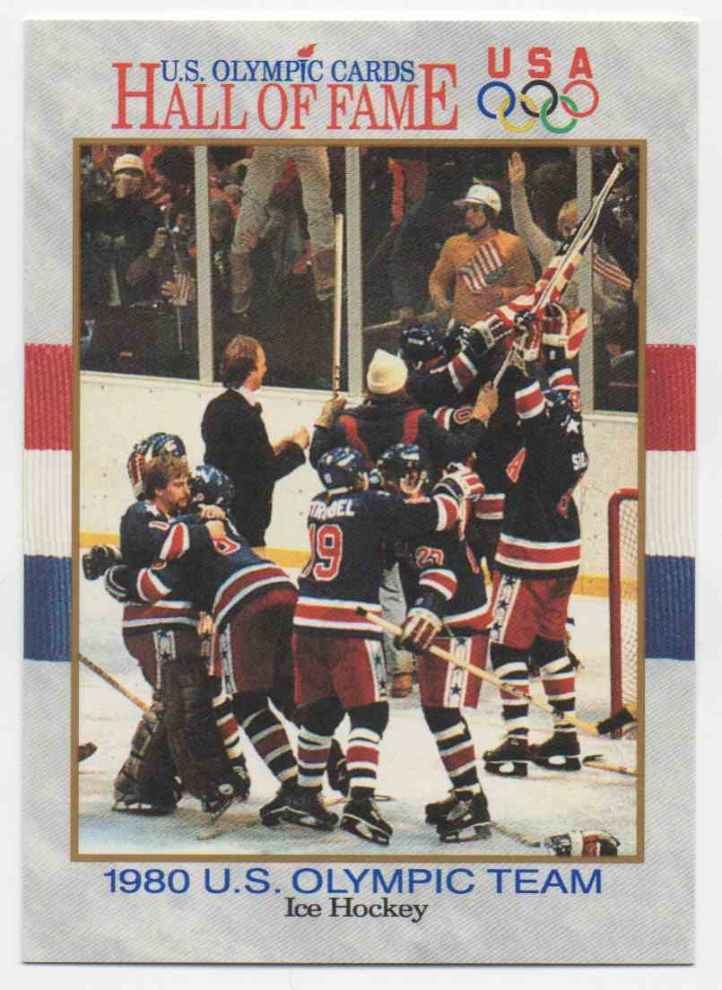 1991 Impel U.S. Olympic Hall Of Fame 1980 Olympic Hockey #66 card front image