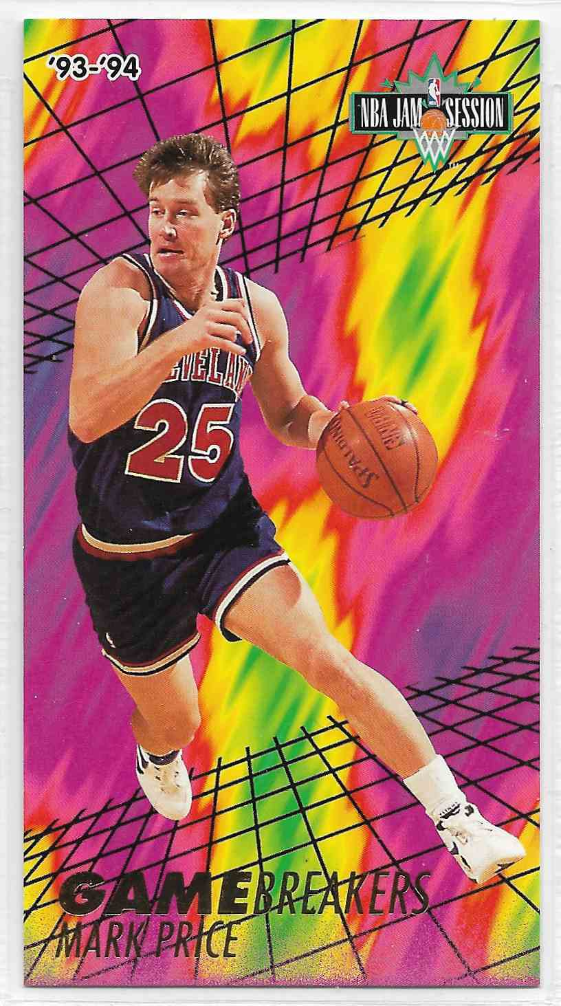 1993-94 Fleer NBA Jam Session Mark Price #6 card front image