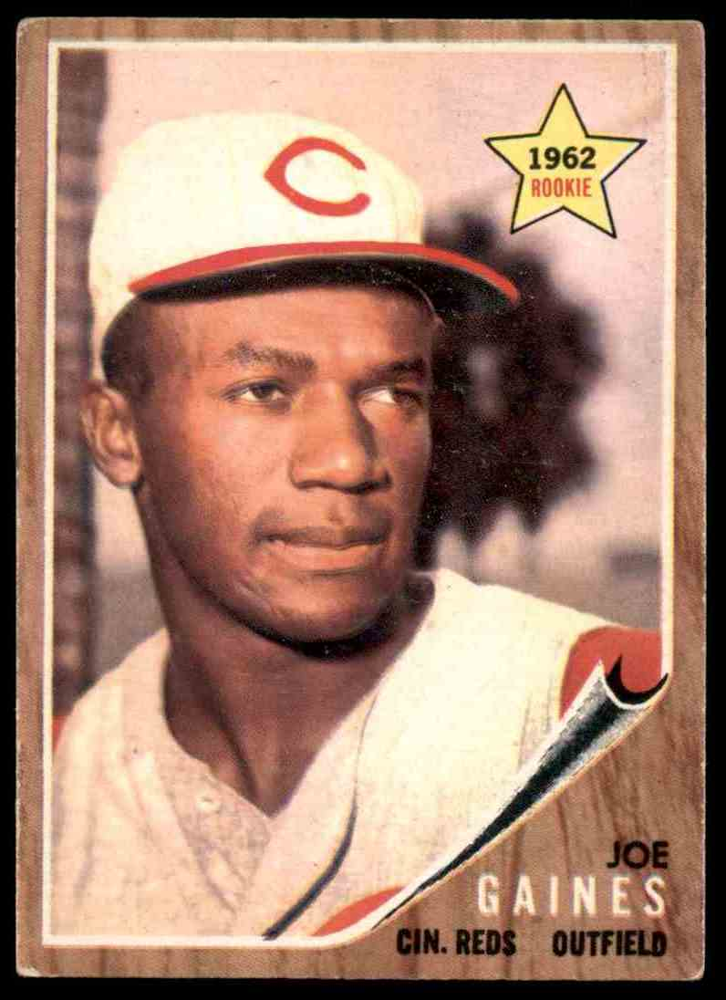 1962 Topps Joe Gaines Rookie Star 414 Card Front Image