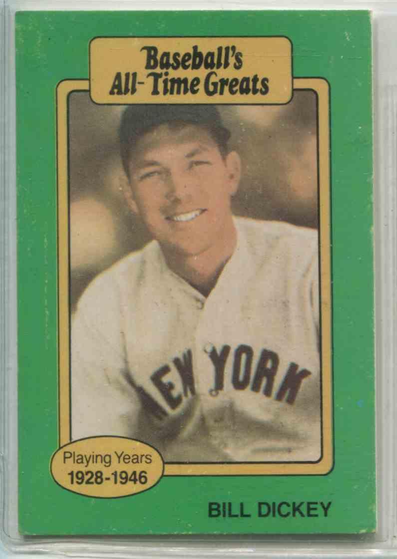 1987 Hygrade Baseball39s All Time Greats Bill Dickey Nno