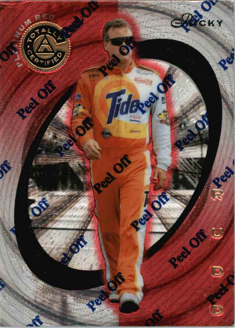 1997 Pinnacle Certified Ricky Rudd #10 card front image