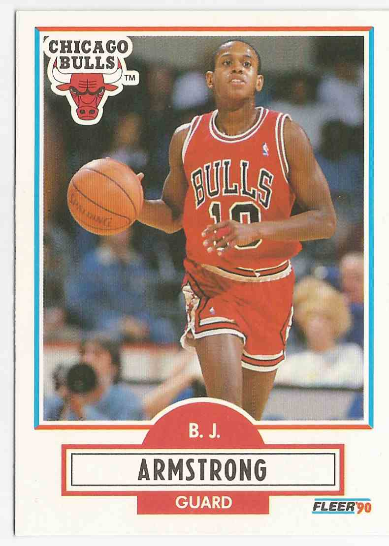 1990 91 Fleer Bj Armstrong Rc 22 On Kronozio