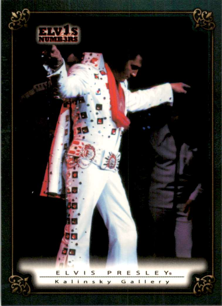 2008 Elvis By The Numbers Kalinsky Gallery #62 card front image