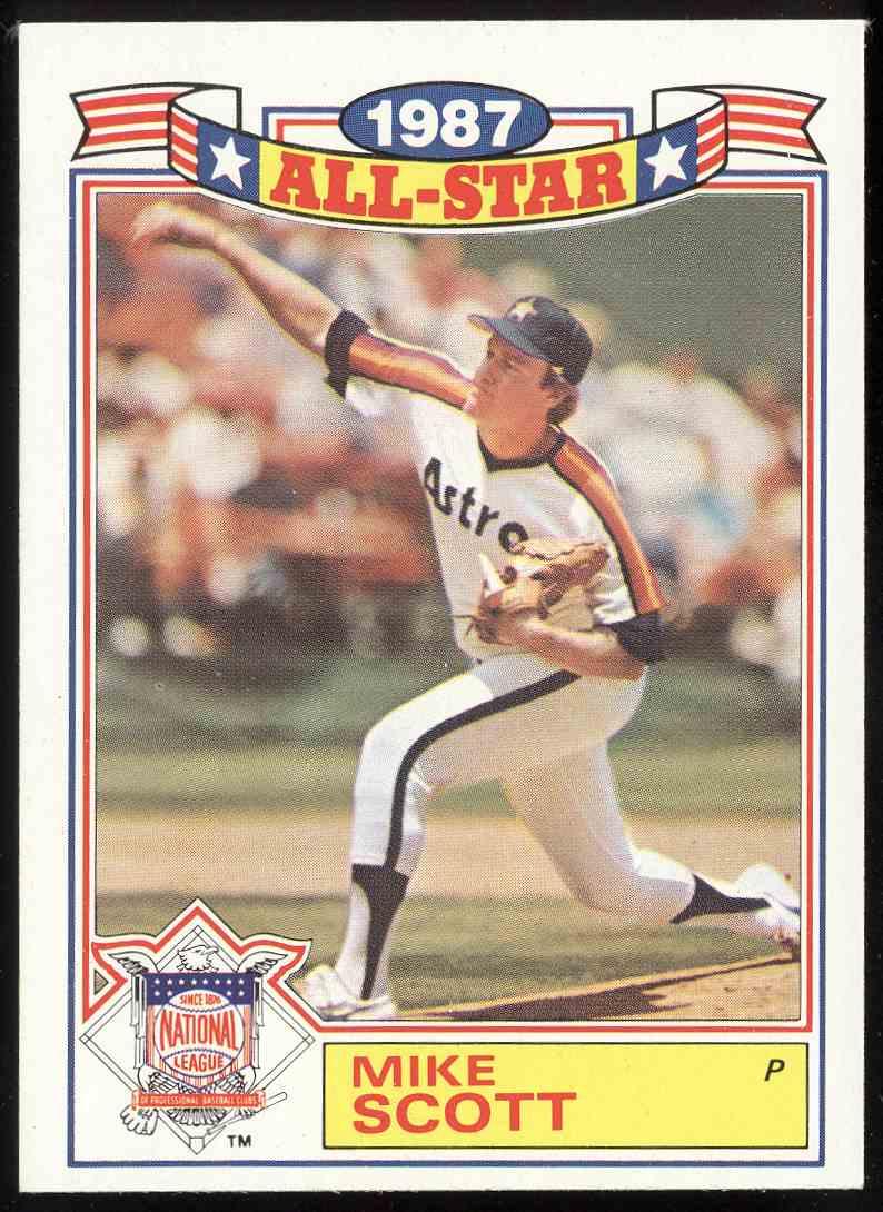 1988 Topps Glossy All Stars Mike Scott 21 On Kronozio