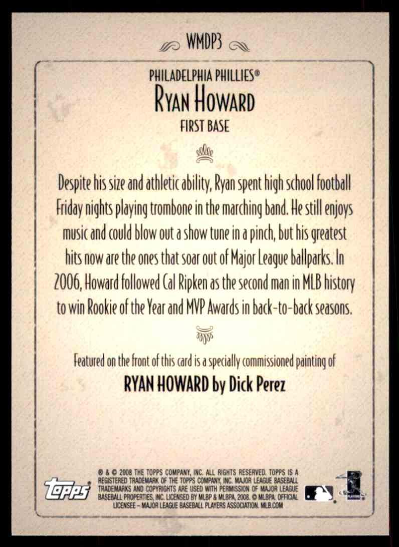 Ryan howard dick perez