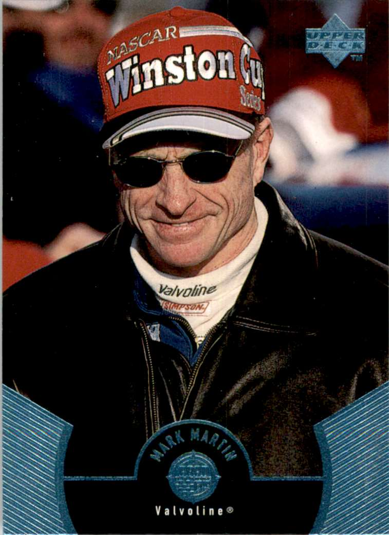 1999 Upper Deck Road To The Cup Mark Martin #18 card front image