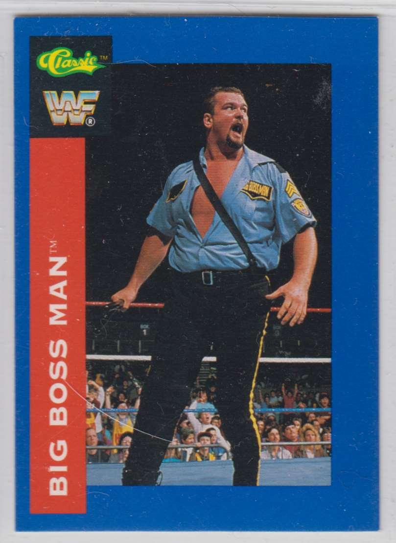 1991 Classic WWF Superstars Big Boos Man #25 card front image