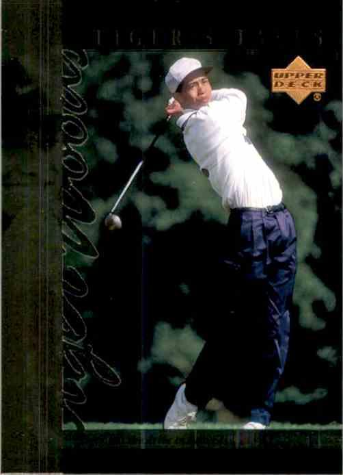 2001 Upper Deck Tiger's Tales Tiger Woods #TT4 card front image
