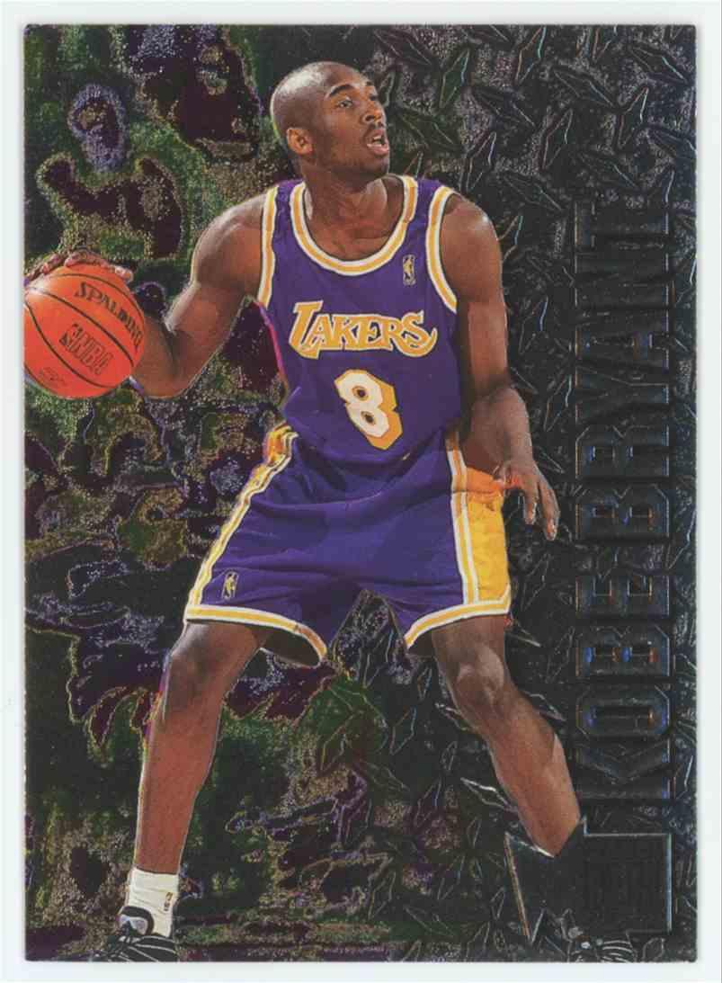 1996-97 Fleer Metal 1996-97 Fleer Metal Kobe Bryant RC #181 Rookie Mint & Sharp A3 #181 card front image