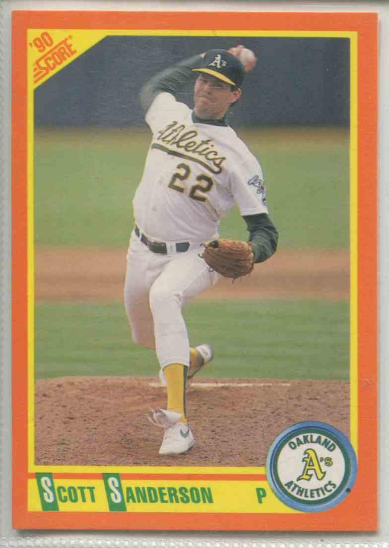 1990 Score Rookie Traded Scott Sanderson 61t On Kronozio