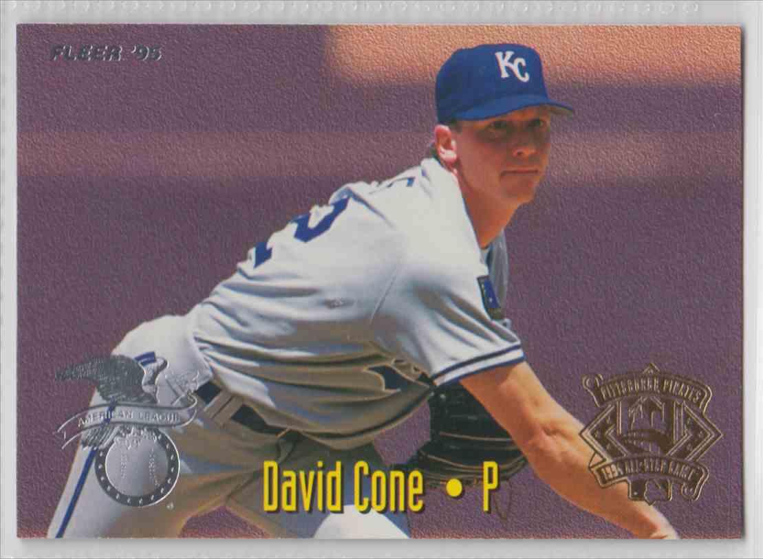 1995 Fleer All Stars David Cone Ken Hill 19 Of 25 On