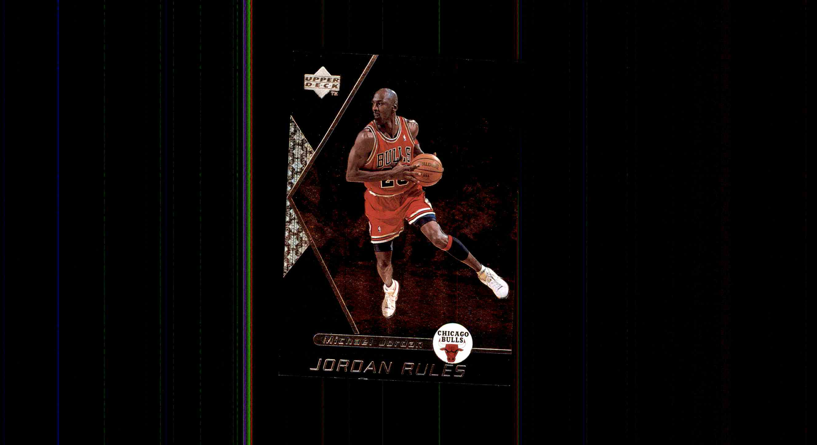 1998 99 Upper Deck Ovation Jordan Rules Michael J9 Card Front Image