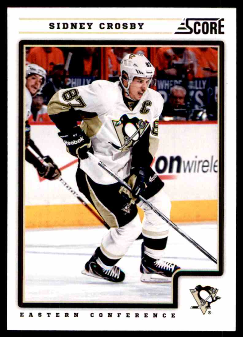 2012-13 Score Sidney Crosby #371 card front image