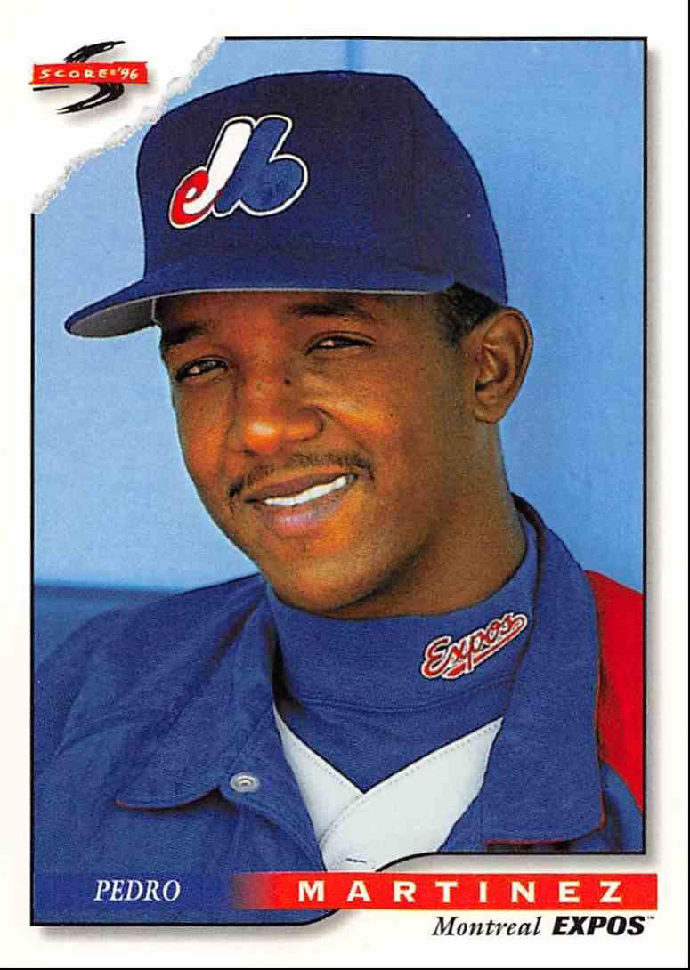 1996 Score Pedro Martinez 277 On Kronozio