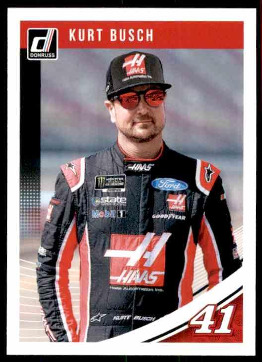 2019 Donruss Kurt Busch #66 card front image