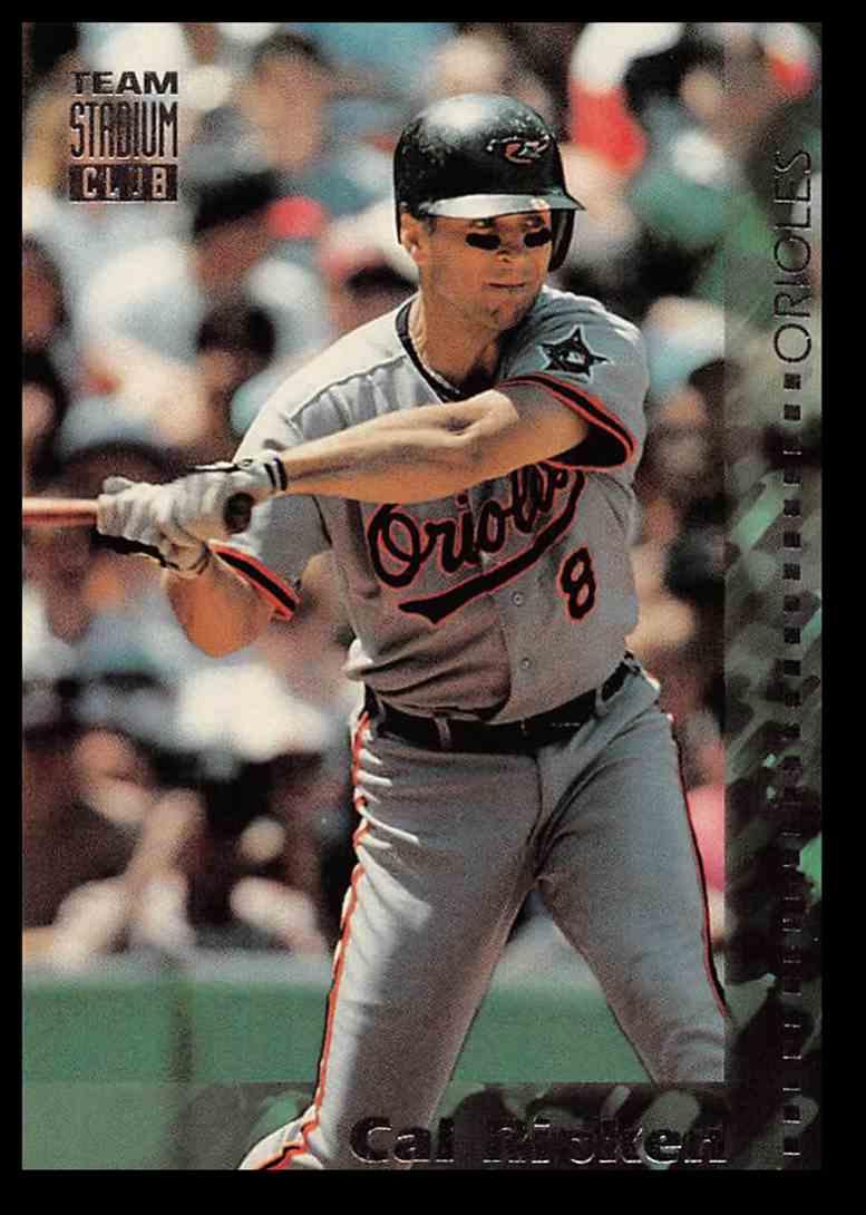 1994 Topps Stadium Club Cal Ripken Jr Baseball Card 271