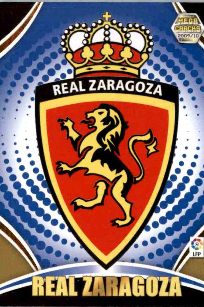 5 Escudo Real Zaragoza trading cards for sale