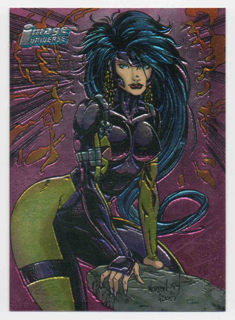 1995 Image Universe Voodoo #18 card front image