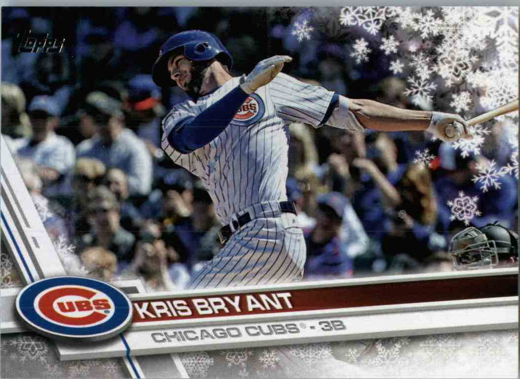 2017 Topps Holiday Kris Bryant #HMW1 card front image