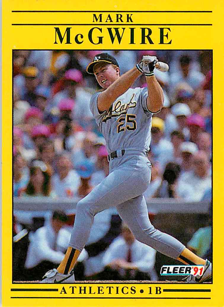 2419 Mark Mcgwire Trading Cards For Sale