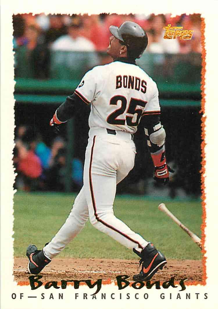1994 Topps Barry Bonds 100 On Kronozio