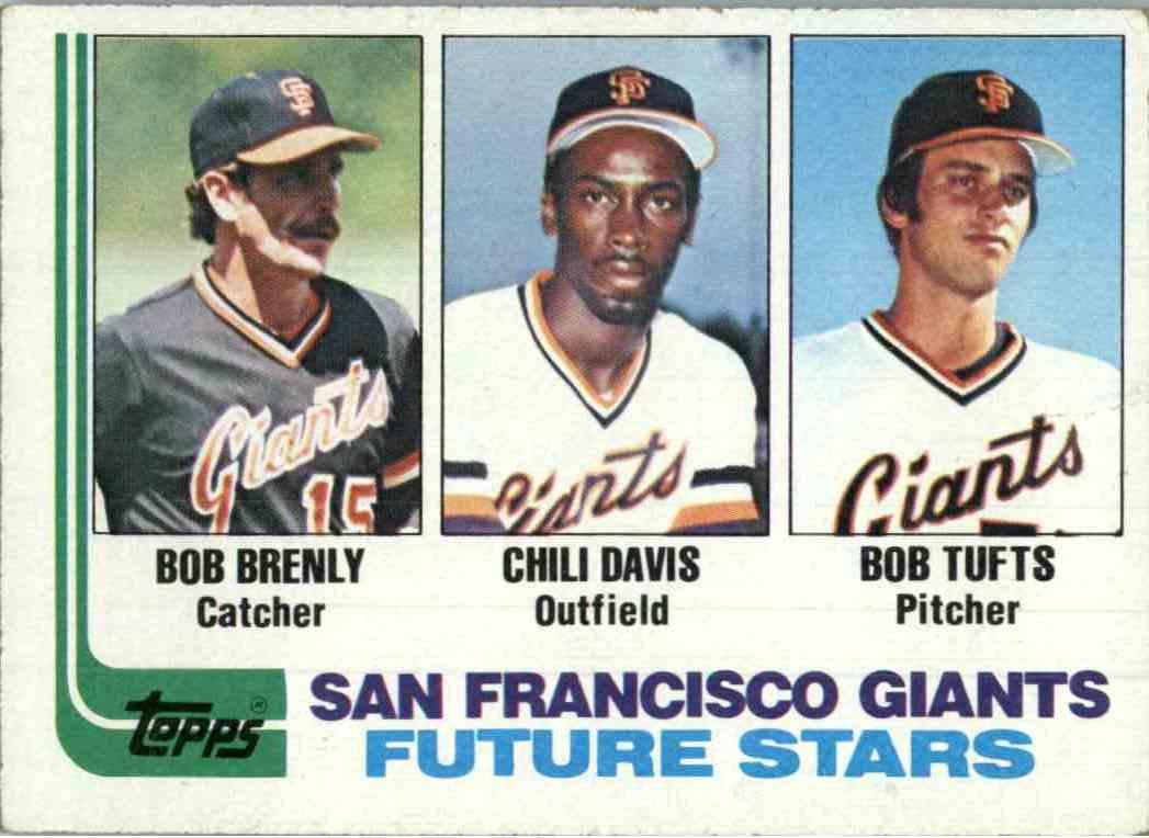 Bob Brenly, Chili Davis and Bob Tufts