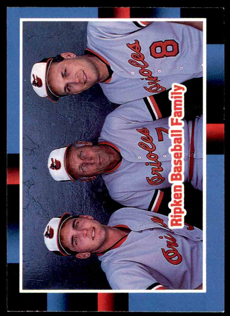 6 Ripken Baseball Family Trading Cards For Sale