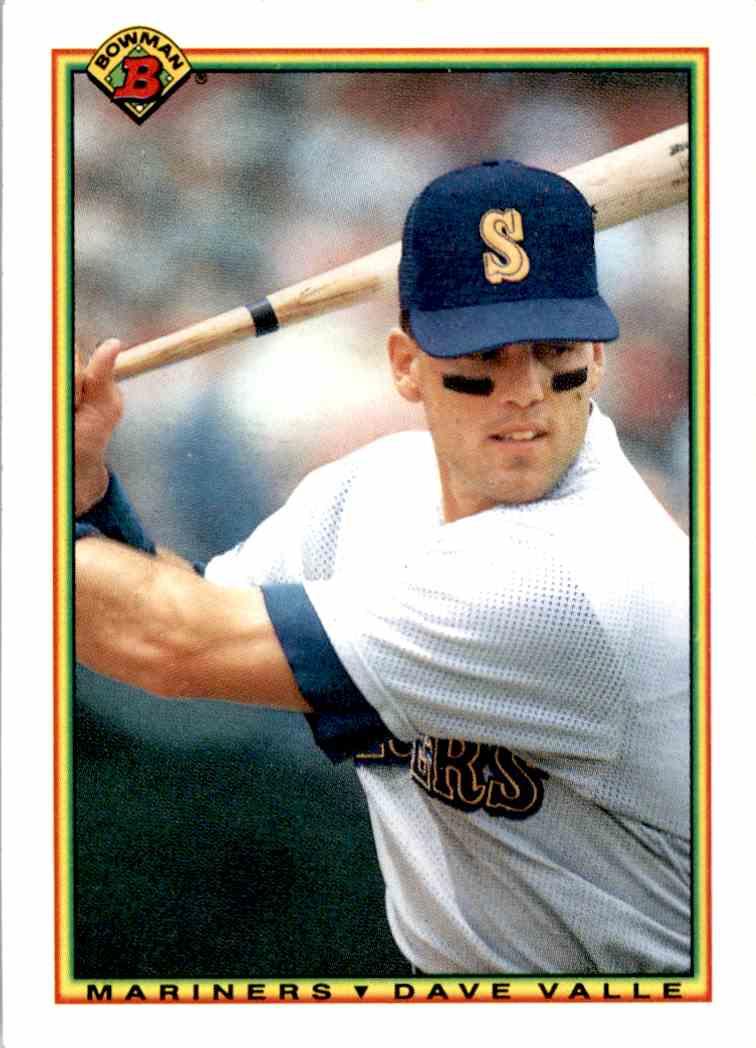 1990 Bowman Dave Valle 473 On Kronozio