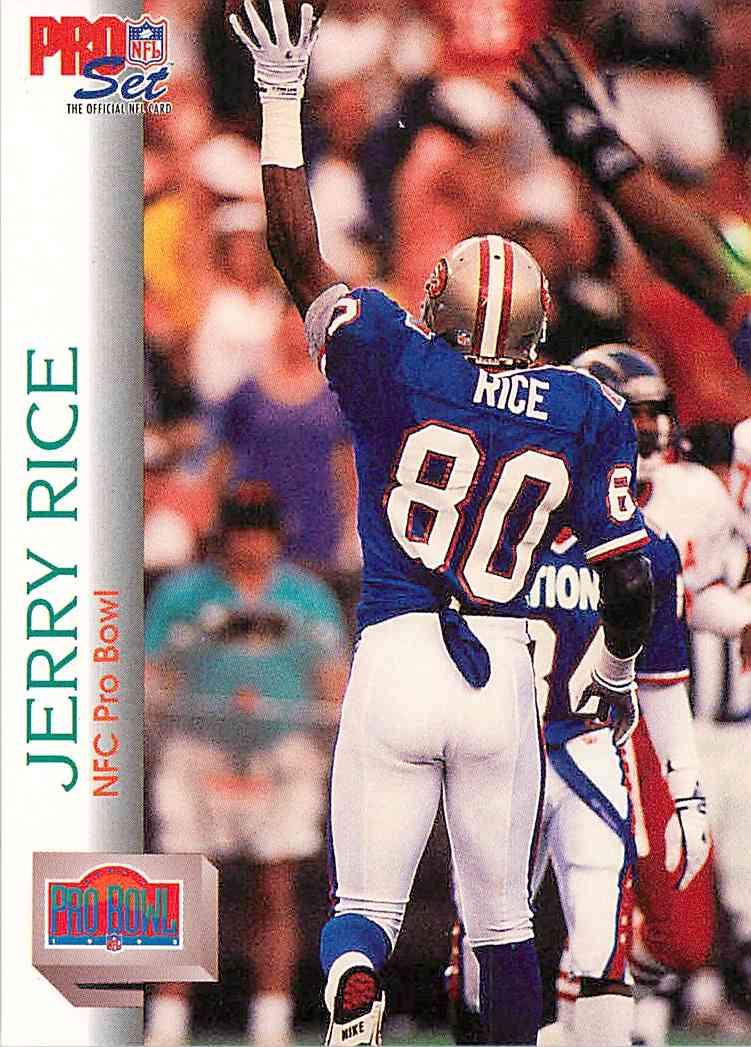 new arrivals bad14 4f229 1992 Pro Set Pro Bowl Jerry Rice #418 on Kronozio