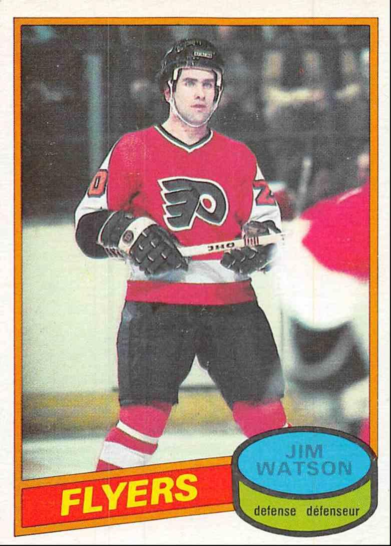 1980-81 O-Pee-Chee Jim Watson #224 card front image