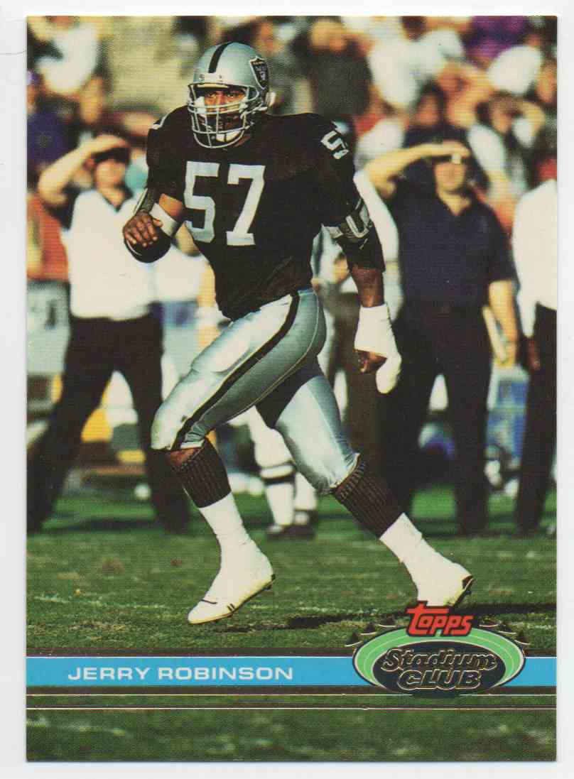 1991 Stadium Club Jerry Robinson #33 card front image