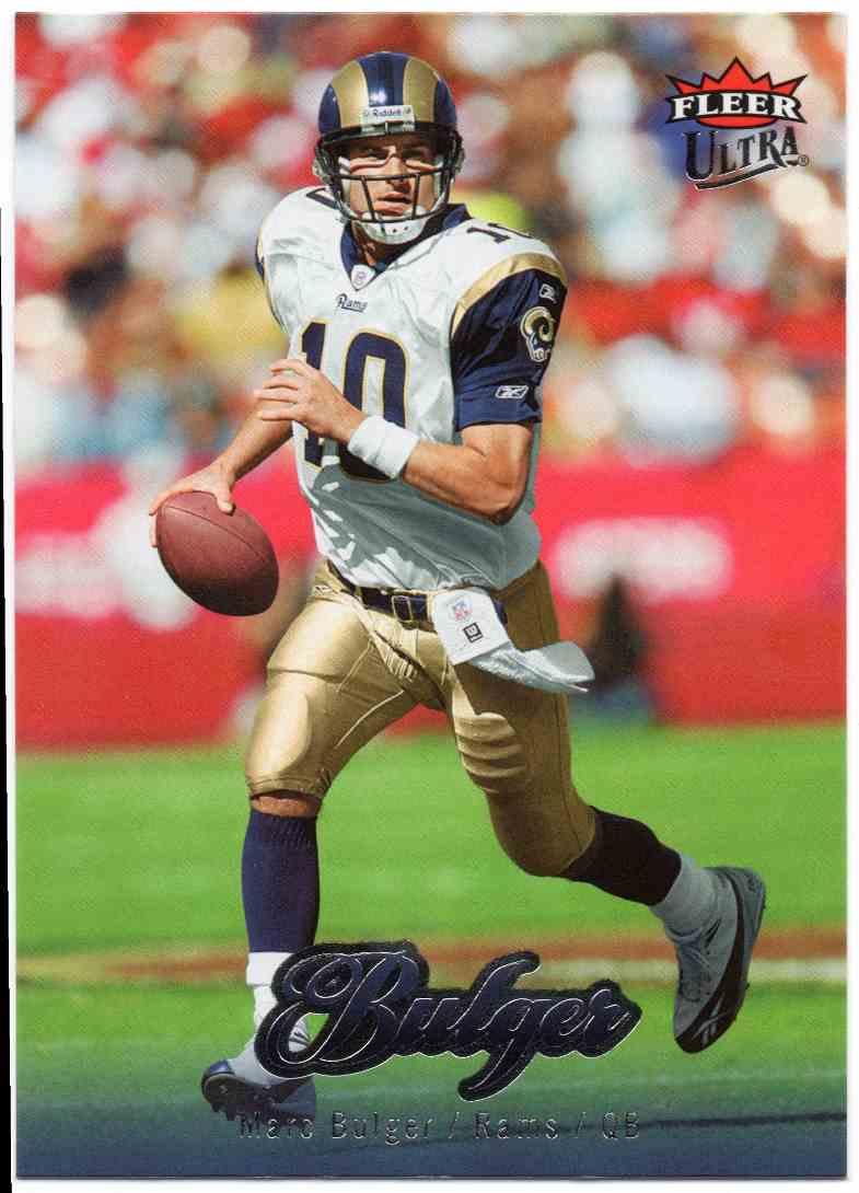 2007 Fleer Ultra Marc Bulger #180 card front image