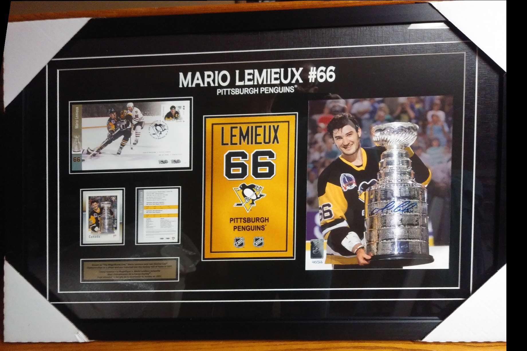2020-21 Large Frame Mario Lemieux #NNO card front image