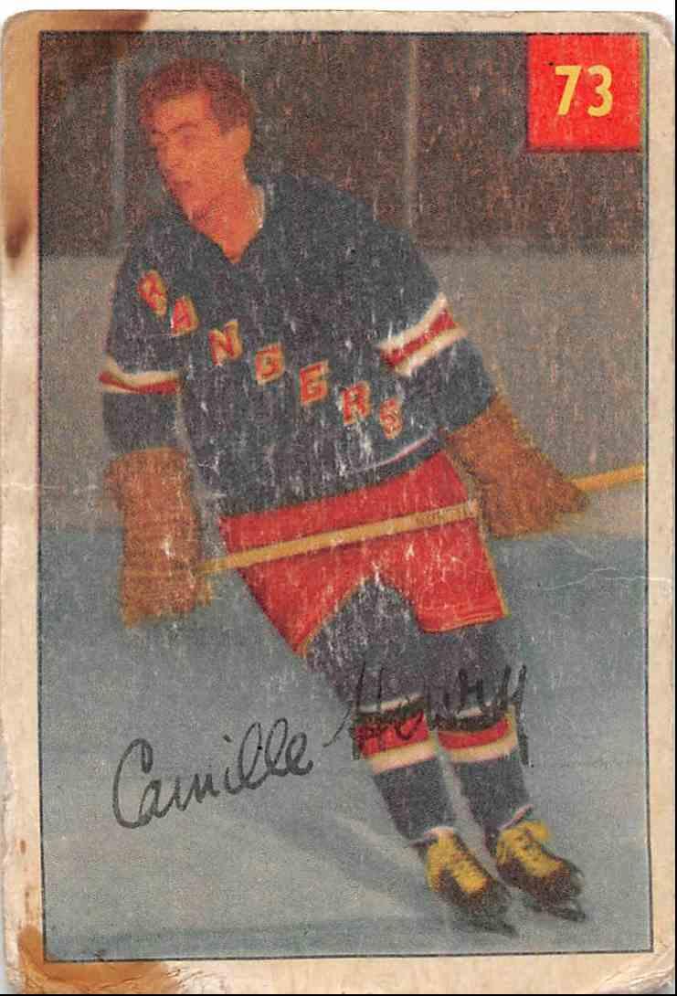 1954-55 Parkhurst Camille Henry #73 card front image