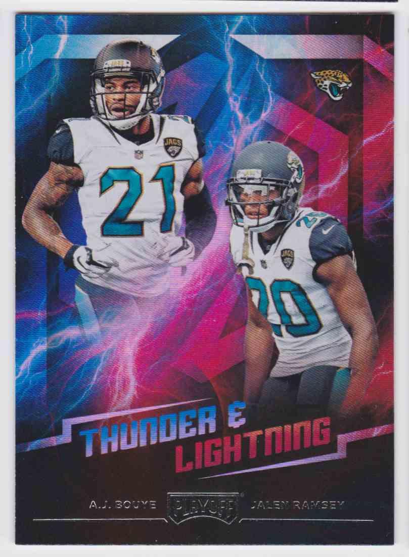 promo code 85340 6a336 2018 Playoff Thunder & Lightning A.J. Bouye Jalen Ramsey ...