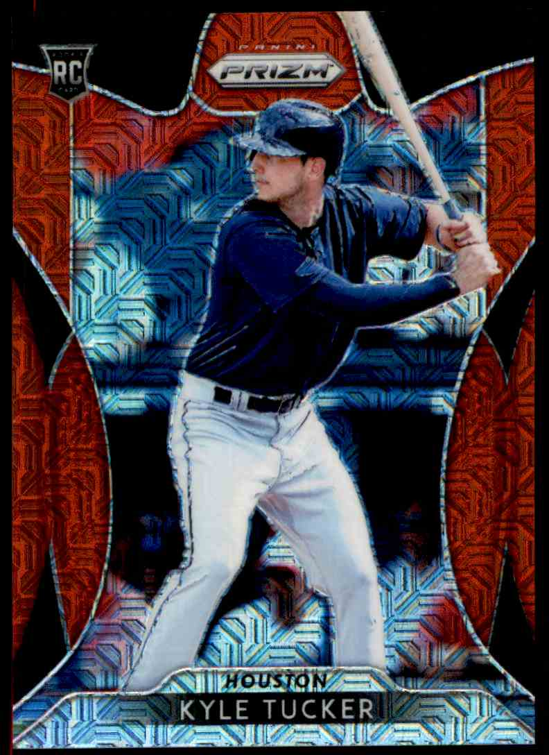 2019 Panini Prizm Red Kyle Tucker #141 card front image