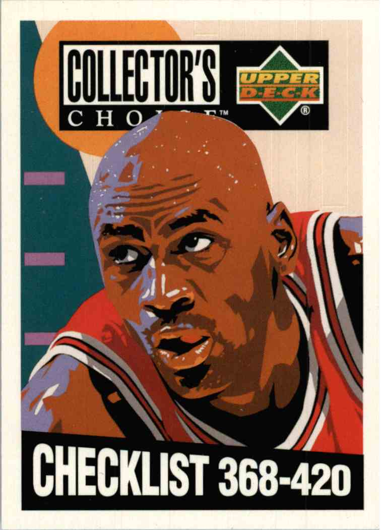 1994-95 Upper Deck UD Choice Michael Jordan #420 card front image