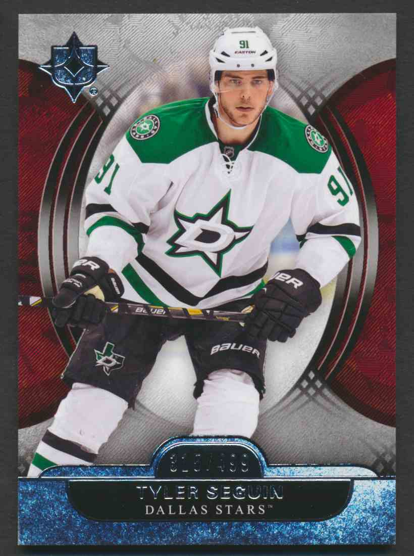 2013-14 Ultimate Collection Tyler Seguin #17 card front image