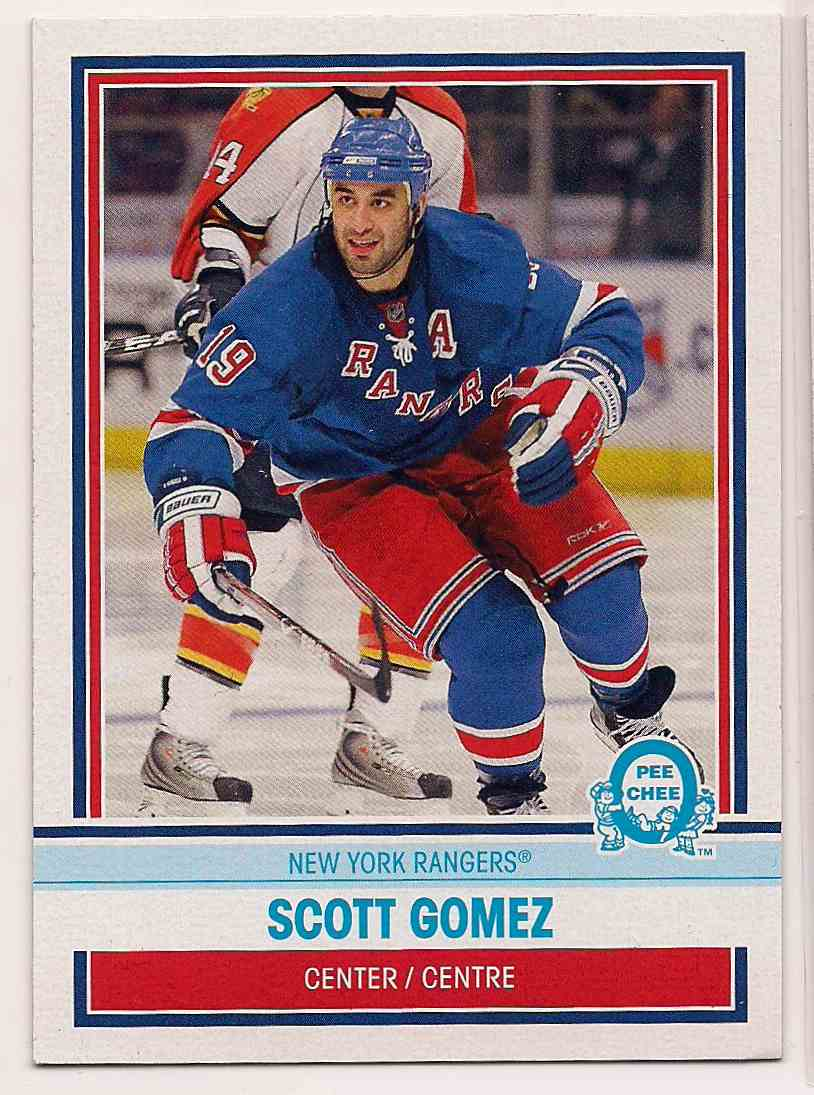 2009-10 0-Pee-Chee Retro Scott Gomez #50 card front image