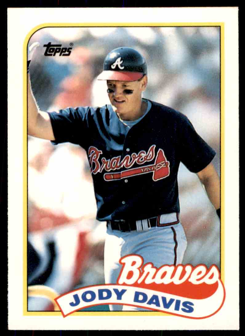 1989 Topps Baseball Traded Series Jody Davis 22t On Kronozio