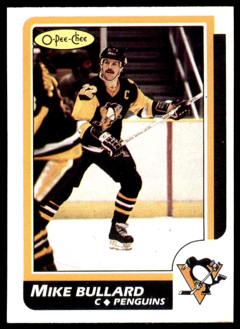 1986-87 OPC Mike Bullard #83 card front image