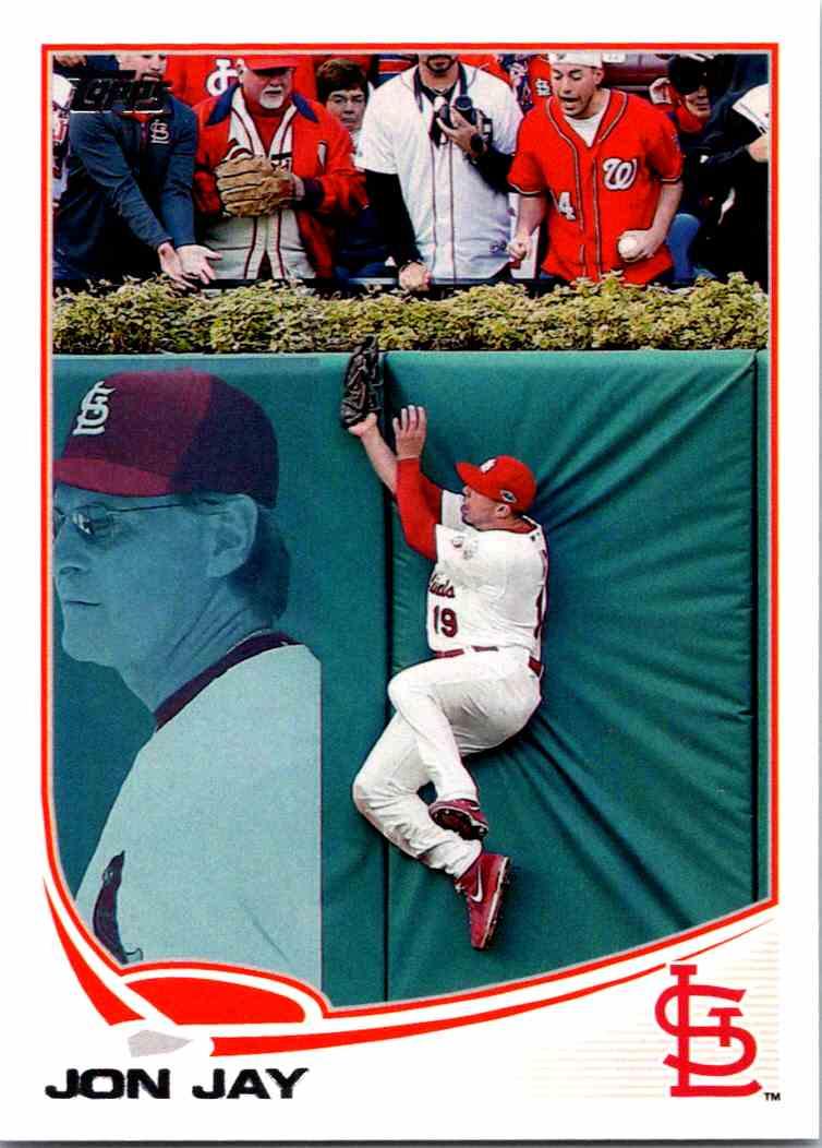 2013 Topps Baseball Jon Jay 224 On Kronozio