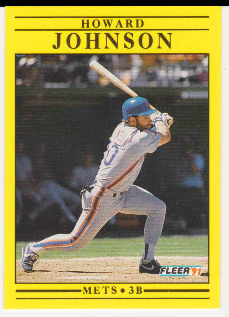 1991 Fleer Howard Johnson 152 On Kronozio