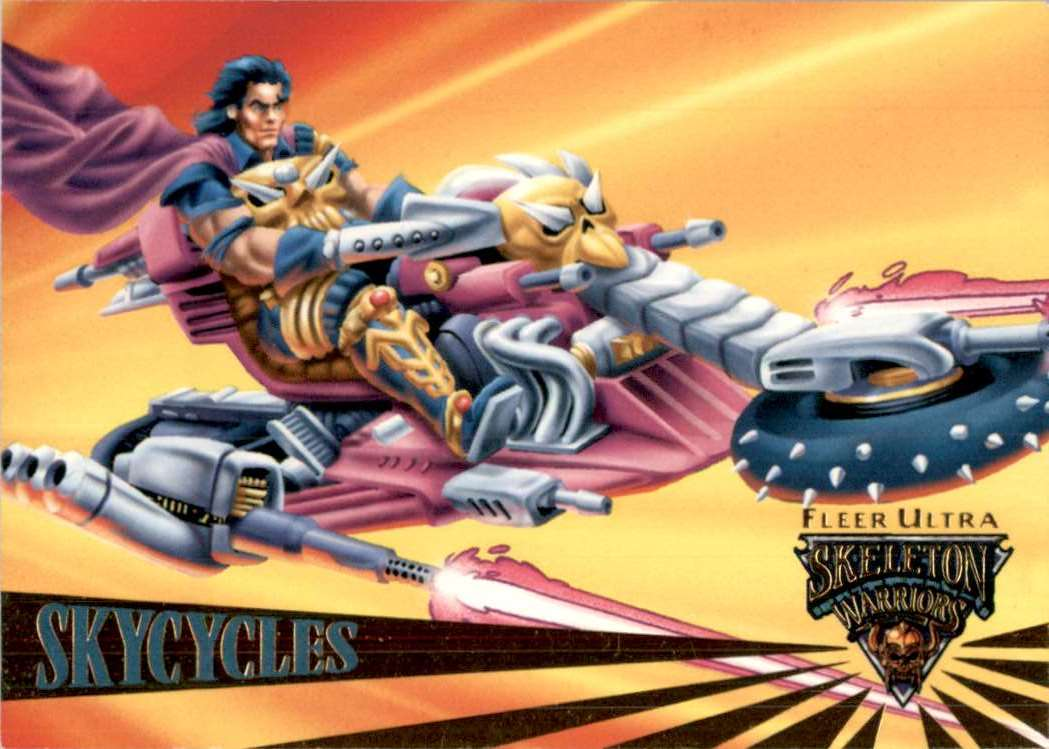 1995 Skeleton Warriors Ultra SkyCycles #68 card front image