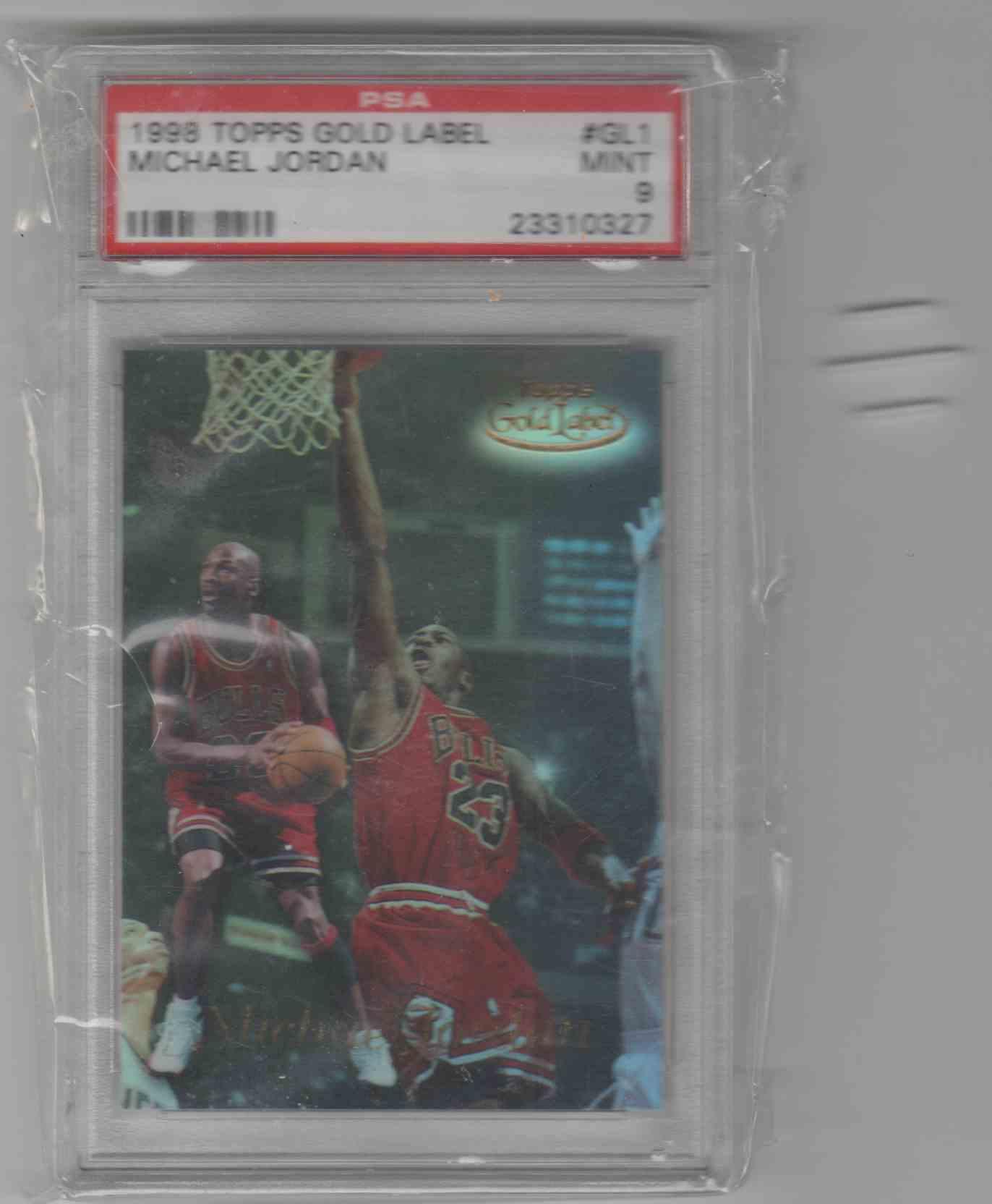 1998-99 Topps Gold Label Michael Jordan #GL1 card front image