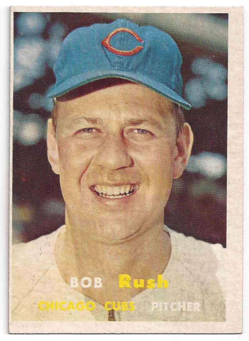 1957 Topps Bib Rush #137 card front image