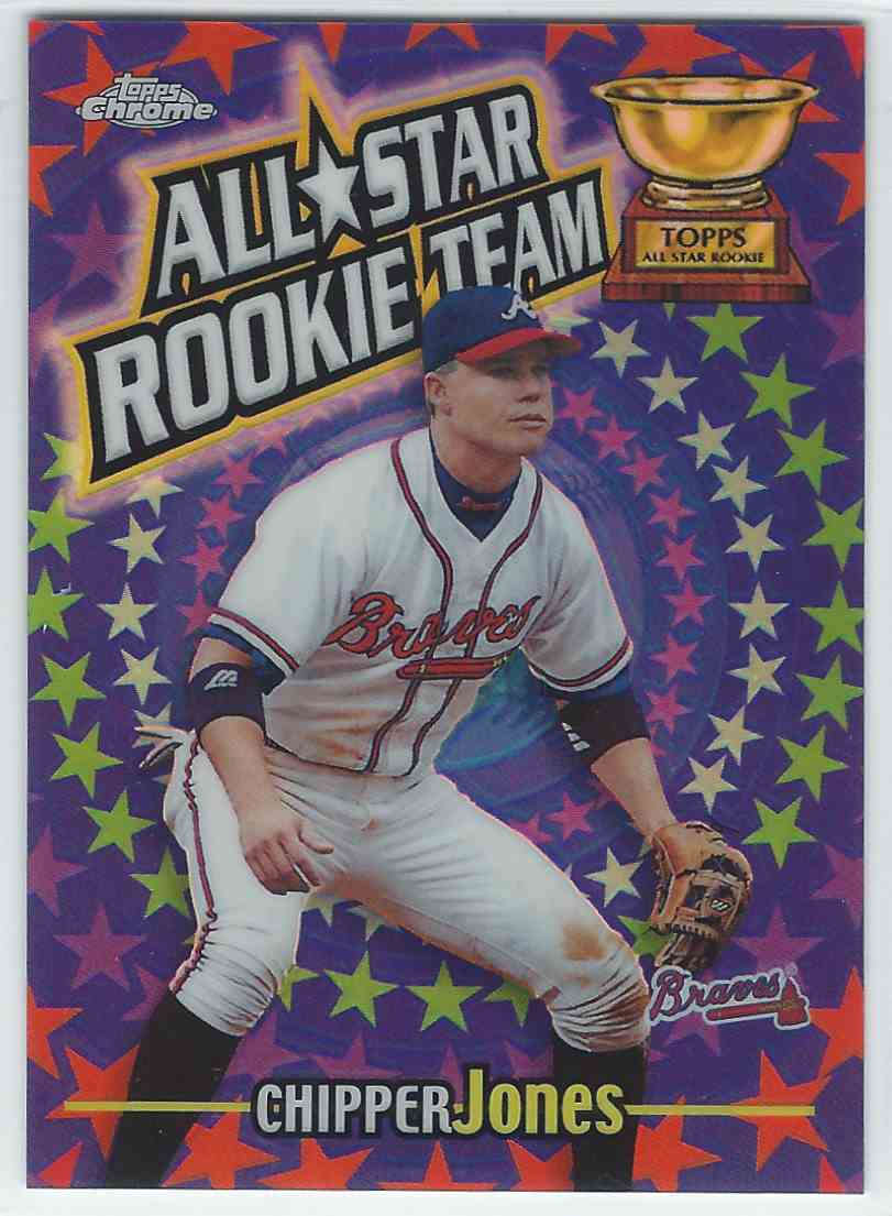 2000 Topps Chrome All Star Rookie Team Refractor Chipper