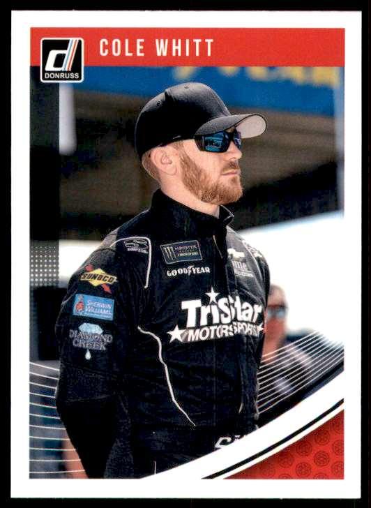 2019 Donruss Cole Whitt #78 card front image
